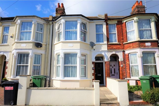 Thumbnail Terraced house for sale in Moscow Road, Hastings