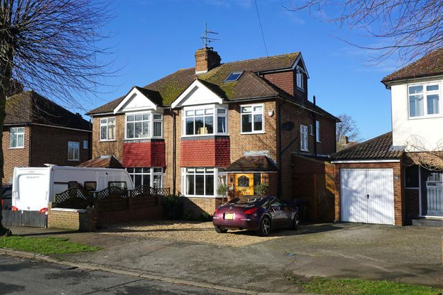 Thumbnail Semi-detached house for sale in Hampden Road, Hitchin