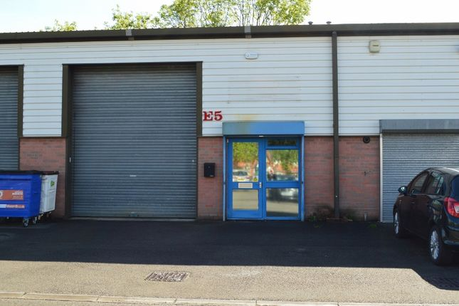 Light industrial to let in Northway Trading Estate, Tewkesbury