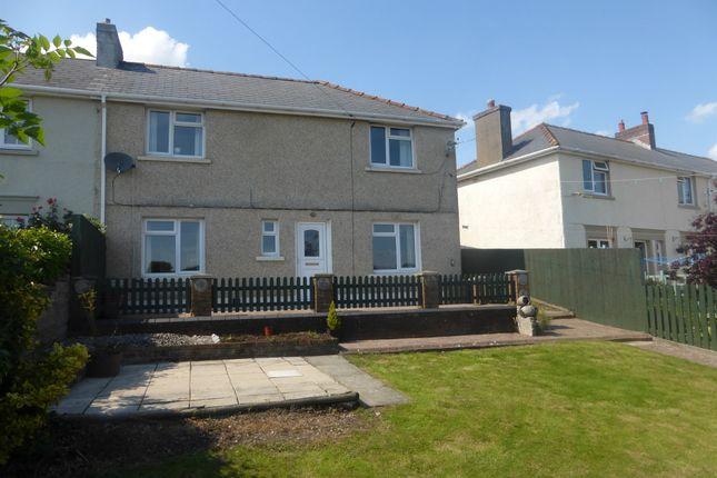 Thumbnail Semi-detached house for sale in Bryn Eglwys, Llanharan, Pontyclun