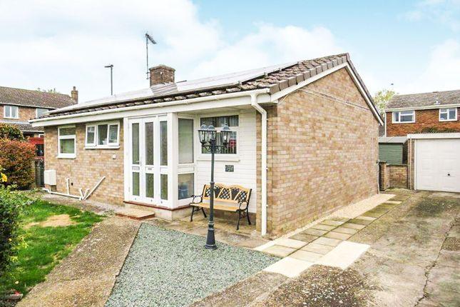 Thumbnail Detached bungalow for sale in Carlton Rise, Melbourn, Royston