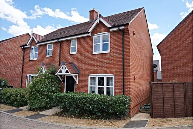 Thumbnail Semi-detached house for sale in Jute Gardens, Shefford
