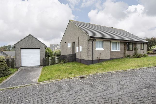 Thumbnail Bungalow for sale in Poldue Close, Redruth