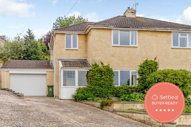 Thumbnail Semi-detached house for sale in Cedar Way, Bath, Somerset