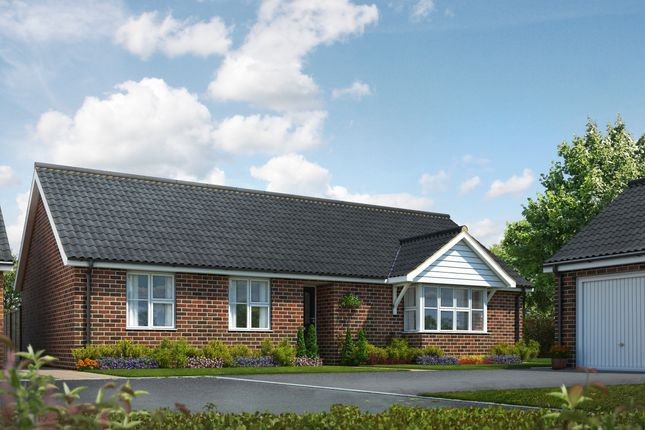 Thumbnail Detached bungalow for sale in The Signals, Norwich Road, Watton