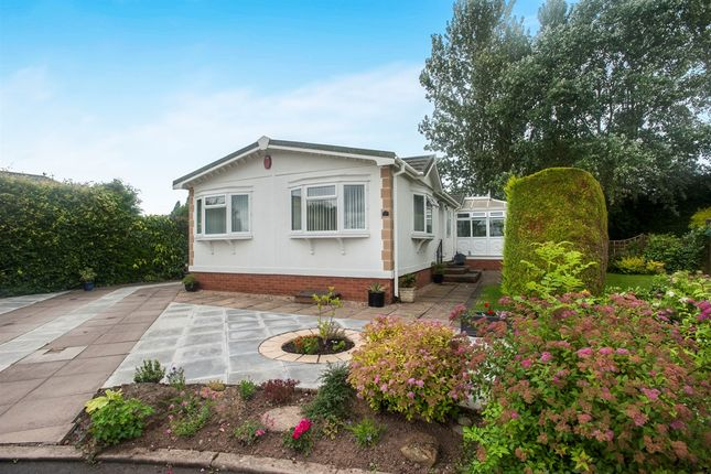 Thumbnail Mobile/park home for sale in Harbury Lane, Heathcote, Warwick