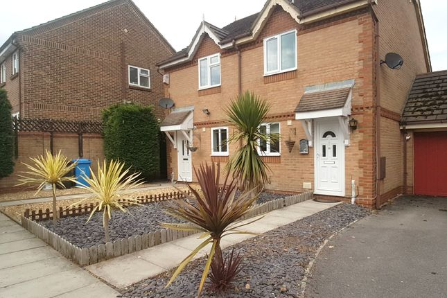 Thumbnail Semi-detached house to rent in Uplyme Close, Canford Heath