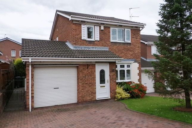 Thumbnail Detached house for sale in Axbridge Close, Stakeford, Choppington
