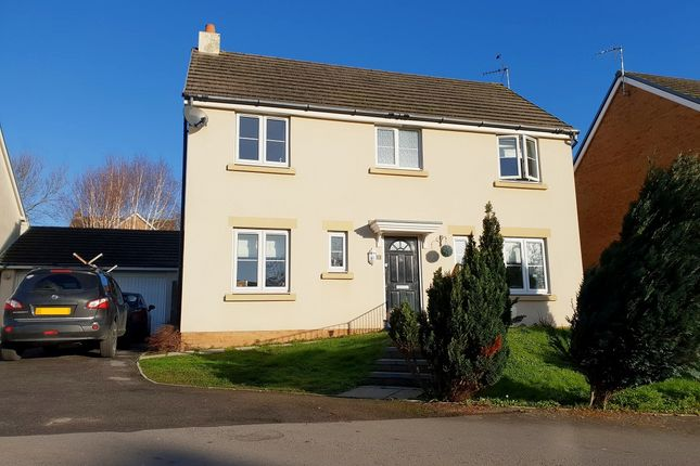 Thumbnail Detached house for sale in Swallow Close, North Cornelly