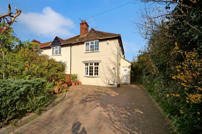 Thumbnail Semi-detached house for sale in Cobden Hill, Radlett