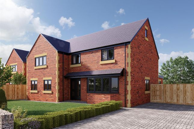 Thumbnail Detached house for sale in The Willows, Welbeck Glade, Welbeck Road, Bolsover