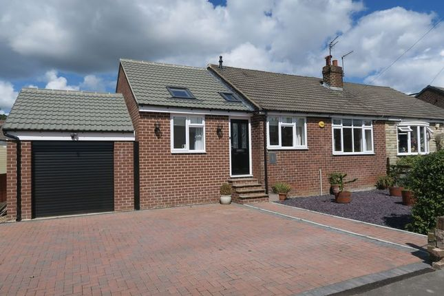 Thumbnail Semi-detached bungalow for sale in Kenilworth Avenue, Gildersome, Leeds