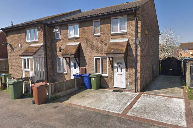 Thumbnail 2 bed end terrace house to rent in Thackeray Avenue, Tilbury