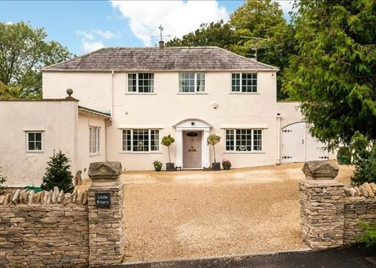 Thumbnail Detached house for sale in Bathwick Hill, Bath, Somerset