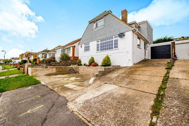 Thumbnail Link-detached house for sale in Cissbury Crescent, Saltdean, Brighton