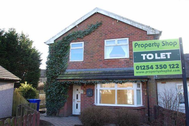 Thumbnail Semi-detached house to rent in The Close, Rising Bridge, Accrington