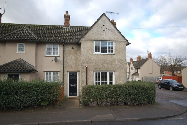 Thumbnail End terrace house to rent in Bury Road, Thetford