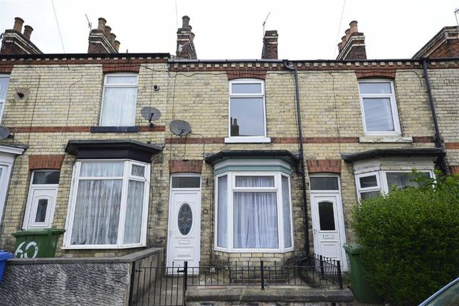 Thumbnail Terraced house to rent in Rothbury Street, Scarborough