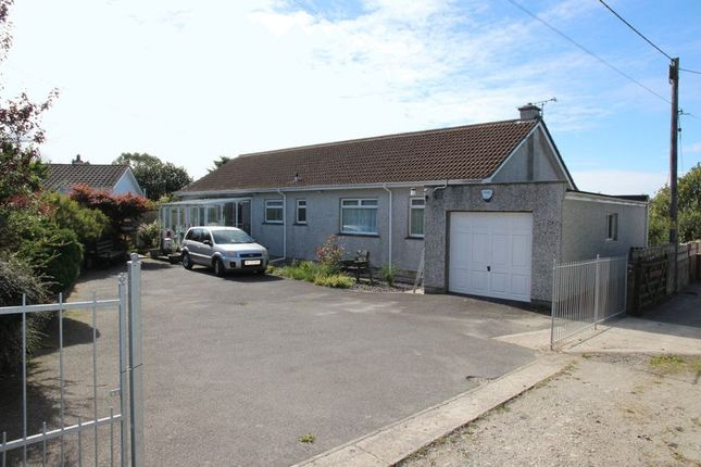 Thumbnail Detached bungalow for sale in Indian Queens, St. Columb