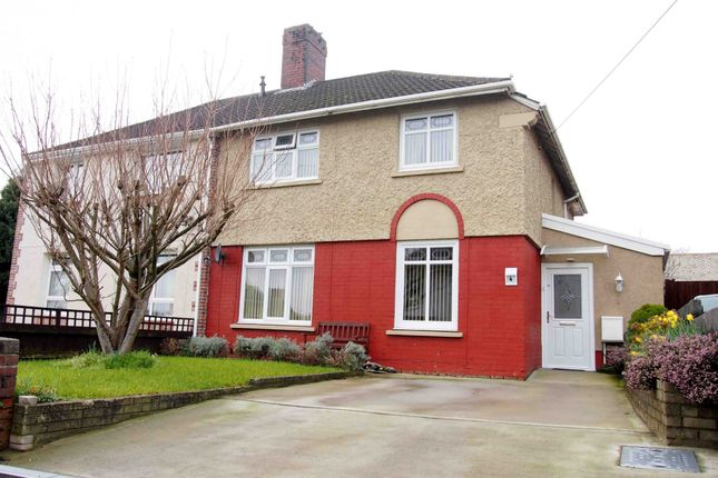 Thumbnail Semi-detached house for sale in Brynllwchwr Road, Swansea