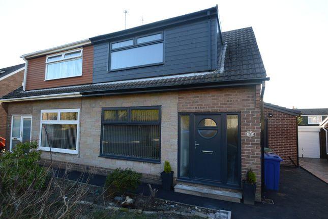 Thumbnail Semi-detached bungalow for sale in Epsom Way, Accrington, Lancashire