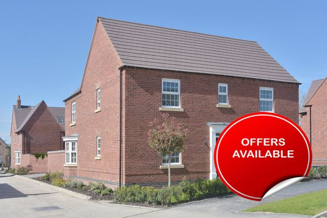 "Thumbnail Detached house for sale in ""Layton"" at Green Lane, Barnard Castle, Barnard Castle"