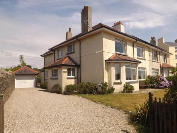 Thumbnail Detached house for sale in West Parade, Criccieth, Gwynedd