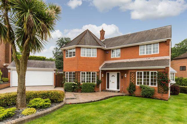 Thumbnail Detached house for sale in Betteridge Drive, Rownhams, Southampton