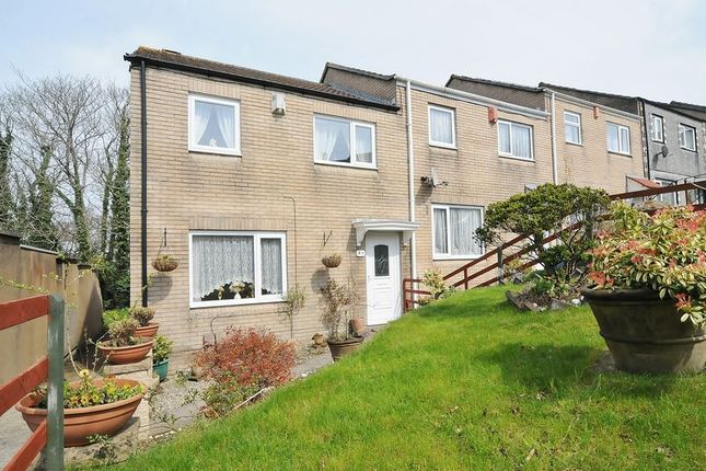 Thumbnail End terrace house for sale in Northampton Close, Plymouth