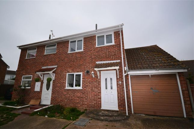 Thumbnail Semi-detached house to rent in Gardenia Place, Clacton-On-Sea