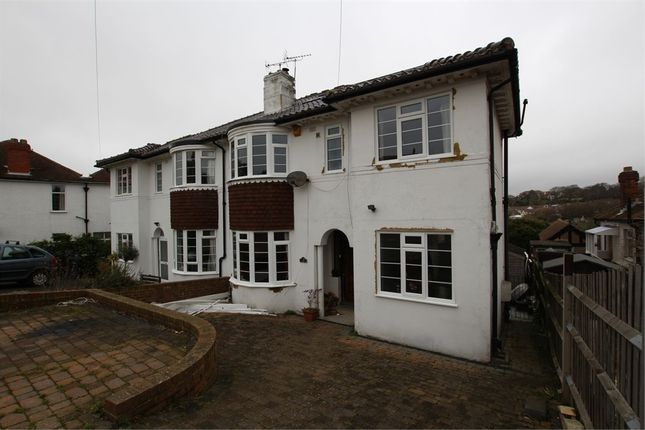 Thumbnail Semi-detached house to rent in Tudor Avenue, St Leonards-On-Sea, East Sussex