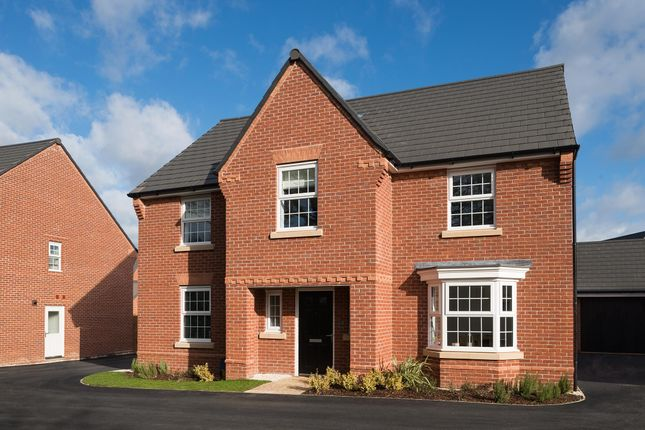 "Thumbnail Detached house for sale in ""Winstone"" at Main Road, Earls Barton, Northampton"