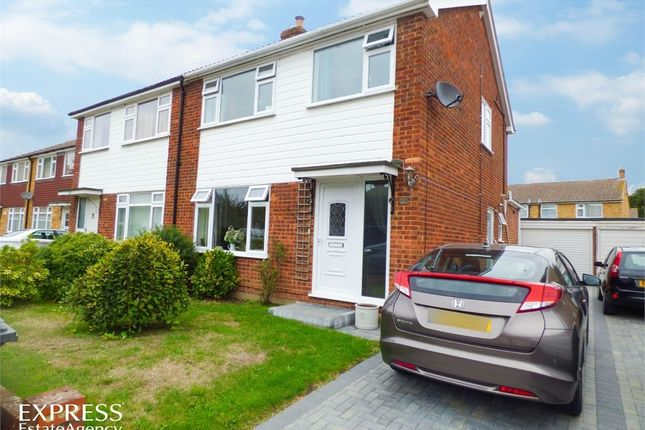 Thumbnail Semi-detached house for sale in Johnson Road, Chelmsford, Essex
