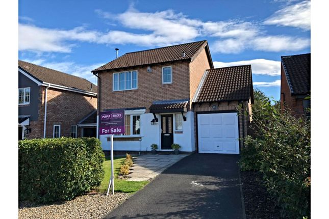 Thumbnail Detached house for sale in Westward Court, Newcastle Upon Tyne