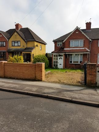 Thumbnail Semi-detached house to rent in Chestnut Road, Walsall