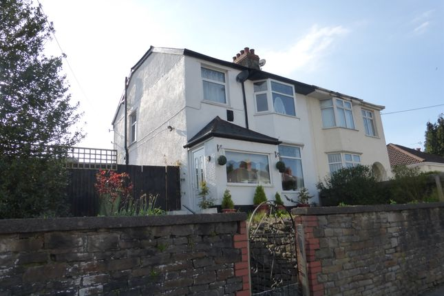 Thumbnail Semi-detached house for sale in Wentloog Road, Rumney, Cardiff