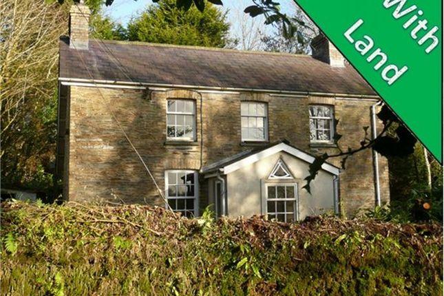 Thumbnail Detached house for sale in Plas-Y-Wennol, Llanfyrnach, Pembrokeshire