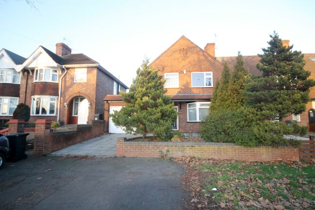 Thumbnail 3 bed semi-detached house for sale in Groby Road, Glenfield, Leicester