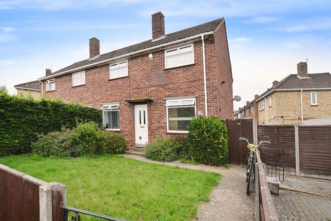 Thumbnail Semi-detached house for sale in Fountains Road, Norwich