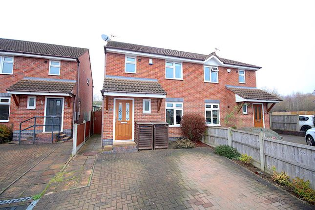 3 bed semi-detached house for sale in Fielding Lane, Ratby, Leicester LE6
