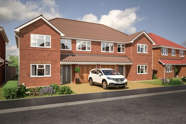 Thumbnail Semi-detached house for sale in Felstead Way, Luton
