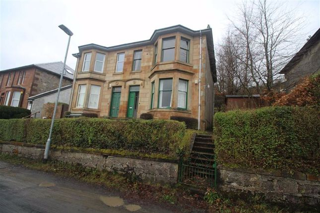 Thumbnail Semi-detached house for sale in Barr's Brae Lane, Port Glasgow