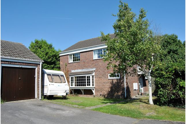 Thumbnail Detached house for sale in Elmdale Close, Warsash