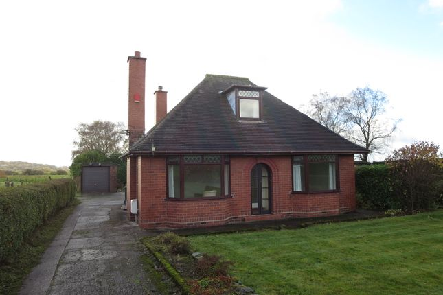 Thumbnail Detached bungalow for sale in High Lane, Alsagers Bank, Stoke-On-Trent