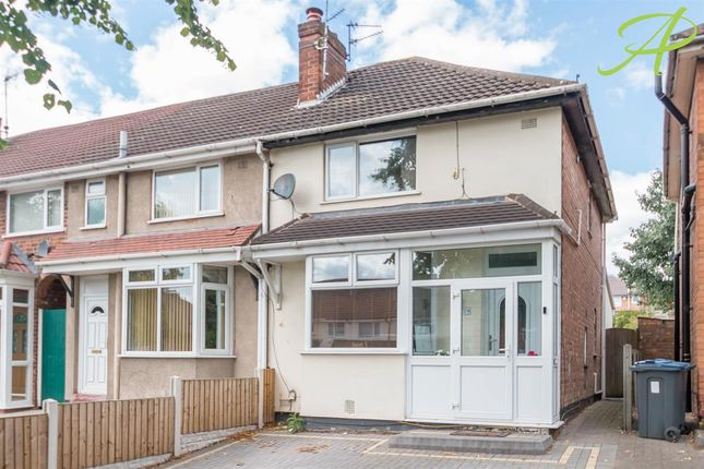 Thumbnail Semi-detached house to rent in Birdbrook Road, Great Barr, Birmingham