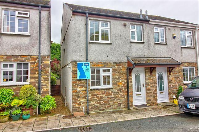 Thumbnail Semi-detached house for sale in Gillys Walk, Albaston, Gunnislake