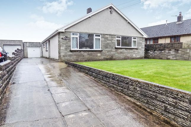 Thumbnail Bungalow for sale in Heol Yr Ysgol, Coity, Bridgend.