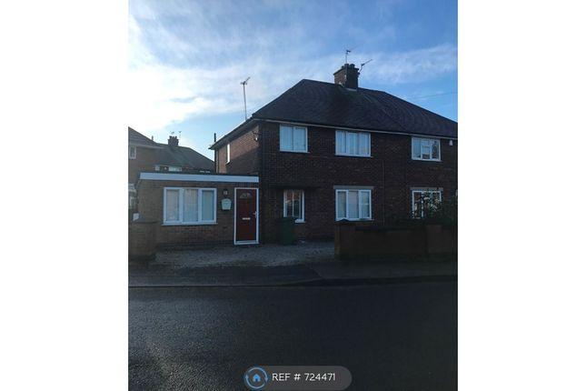 Thumbnail Semi-detached house to rent in Birkland Avenue, Warsop, Mansfield