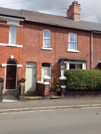 Thumbnail Terraced house for sale in Percy Road, Wrexham