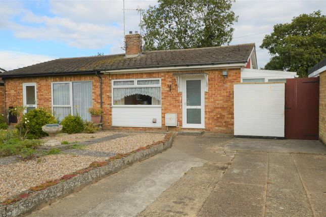 Thumbnail Semi-detached bungalow for sale in Hatchcroft Gardens, Elmstead, Colchester